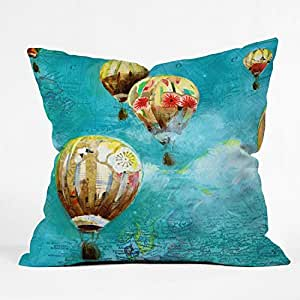 DENY Designs Land of Lulu Herd of Ballons 2 Throw Pillow