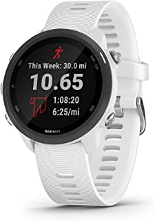 Garmin 佳明 Forerunner 245 跑步智能手表,高级动态设计010-02120-21 音乐 白色