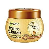 Garnier 真正想* - 面具 , **适用于 Intensive *护理 , 保留的颜色光泽 ( 带 Gelée Royale , 蜜蜂唇膏 & 蜂蜜 – 适用于 bruechiges , strapziertes * ) 1 x 300毫升 )