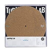 Turntable Lab:双层软木唱片垫 - 减少盘振动,美国制造