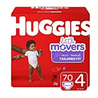 HUGGIES Little Movers 纸尿裤 NEW Giga Pack 4 70