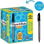 Paper Mate InkJoy 带盖圆珠笔 中等粗细笔尖 80 + 20 Stück 黑色