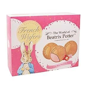 Beatrix Potter 波特小姐 草苺巧克力味法式薄酥饼干 180g(台澎进口)