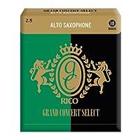 Rico Grand Concert Select 2.5号中音萨克斯哨片10只装 RGC10ASX250