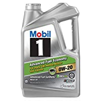 Mobil 美孚 1号机油0W20 - 5夸脱(美版)(亚马逊进口直采,美国品牌)