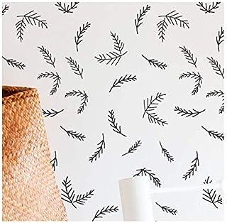 Pine Sprig 墙绘模板