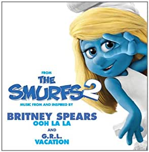 布兰妮 Britney Spears:Ooh La La(动画电影《蓝精灵2》主题曲)(CD) 随碟送精美文件夹