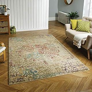 地毯直接地毯,热聚丙烯,多色,120 厘米 x 180 厘米