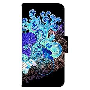 智能手机壳 手册式 对应全部机型 印刷手册 wn-582top 套 手册 图形艺术 UV印刷 壳WN-PR215694-S iPhone5s 图案D