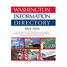 Washington Information Directory 2015-2016 (English Edition)