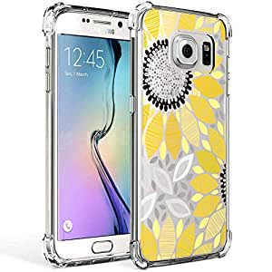 Galaxy S7 花朵手机壳 Samsung Galaxy S7 Edge 橙色