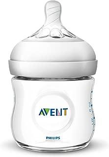 PHILIPS AVENT 自然原生玻璃嬰兒奶瓶 透明 1 Piece SCF010/17