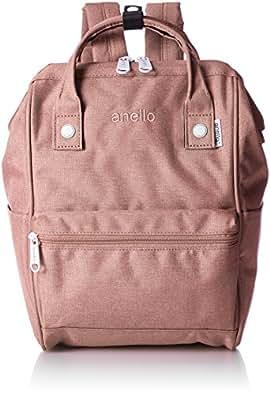[anello] 高密度涤纶混色 金属拉头双肩背包S AT-B2264 NPI 粉