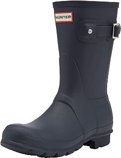Hunter 女式原创短款惠灵顿靴 IRIS w23758 Blue (Navy) 3 UK