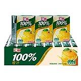 汇源果汁 汇源100%橙汁 200ml*24盒
