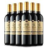 2014年法国拉玛特雄狮堡 西南加亚克小产区 18月橡木桶陈酿 家族酒庄酿制 城堡级干红葡萄酒整箱优惠750ml*6