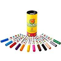 JoanMiro 美乐 儿童可水洗水彩笔12色 儿童绘画可水洗 宝宝水彩画笔 JM08152