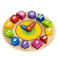 Tooky 玩具时钟拼图儿童玩具