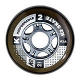 K2性能80mm inline Skate wheel 4件装