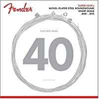 Fender 配件镀镍钢圆形低音弦 30735250402  40-95