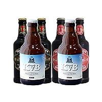 布雷帝国 组合啤酒3种口味 白啤330ml*2瓶+替牌黑啤330ml*2瓶+替牌苏格兰艾尔啤酒330ml*2瓶 共6瓶