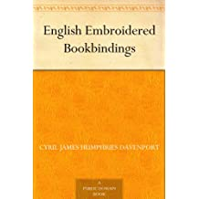 English Embroidered Bookbindings (English Edition)