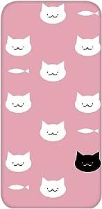 智能手机壳 透明 印刷 对应全部机型 cw-711top 套 猫 猫 CAT UV印刷 壳WN-PR505850 ZTE Blade V7 Lite 图案 A
