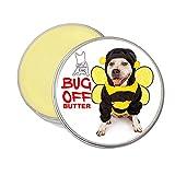Blissful Dog BUG-15-PIT Bug-Off Butter Balm 带狗牌的狗狗巴庭院狗狗 2-Ounce