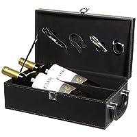 Pastor 牧羊人珍藏赤霞珠红葡萄酒750ml*2(高档双支皮盒装带酒具)(智利进口红酒)