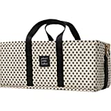 Petunia Pickle Bottom The Grid Caddy Positive, Beige