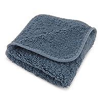 """Abyss Super Pile 浴巾 - Bluestone (306) Bluestone (306) Wash Cloth (12"""" x 12"""") FLB609372160581"""