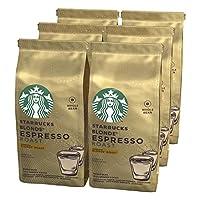 STARBUCKS 星巴克 BLONDE Espresso Roast 全豆咖啡豆,中度烘焙, (6 x 200g)