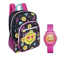 表情15.6英寸便携 & 女孩粉色手表–儿童