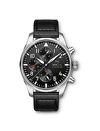 IWC 万国 瑞士品牌 飞行员系列 自动机械男士手表 IW377709(亚马逊自营商品, 由供应商配送)