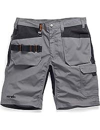 Scruffs T54652 Trade Flex 皮套短裤石墨色 36W