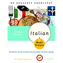 Italian Made Simple: Revised and Updated (English Edition)