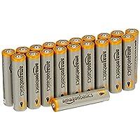 AmazonBasics 亚马逊倍思 AAA型(7号) 碱性电池 20节装 (进口直采)