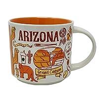 Starbucks Been There 系列咖啡杯 多色 Arizona