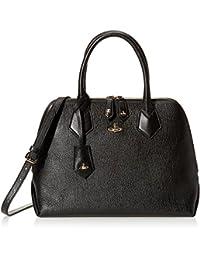 Vivienne Westwood 女式 手拎包 BALMORAL 131200 OPIO SAFFIANO VW131200BML01D2 黑色 31 * 25 * 15.5cm