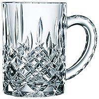 Nachtmann 奈赫曼 诺贝勒斯系列600ml带把啤酒杯0095635-0 水晶玻璃带把啤酒杯 果汁杯  单只装(亚马逊自营商品, 由供应商配送)
