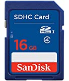SanDisk闪迪SDHCClass416GSD卡 普通蓝卡