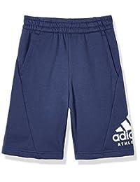 adidas Kids 阿迪达斯 男童 大童针织短裤 YB SID SHORT