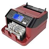 康乃馨货币计数器和账单检测器 | 磁性和紫外线检测适用于美国钞票、加拿大元和墨西哥比索。 CR1800
