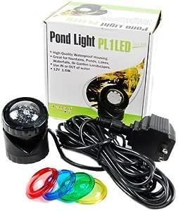 Jebao Submersible LED Pond Light 黑色 1 件套
