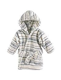 Hudson Baby 柔软毛绒婴儿浴袍 Aztec 0-9 个月