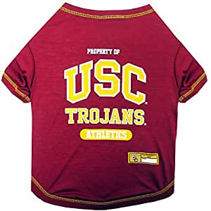Pets First College USC Trojans Tee Shirt Not Applicable X-S