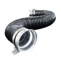Simoni Racing T/PF-N 能量流软管,黑色和银色