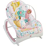 Fisher-Price 婴儿到学步宝宝摇篮 粉色
