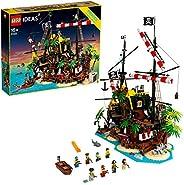 LEGO 乐高 创意系列 红胡子船长海贼岛 21322