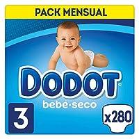Dodot Bebé – 尿布,280片,尺寸 3